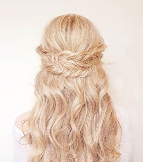 aesthetic, blonde and braid
