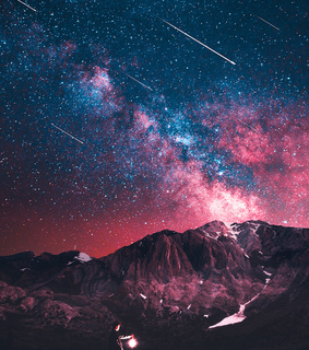 asthetic, galaxy and photography