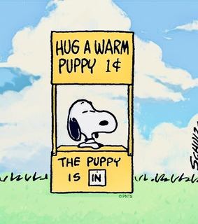 peanuts and snoopy