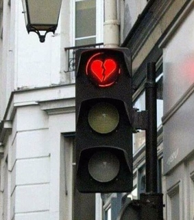 broken heart, rp theme and red light