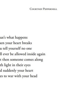 broken, confused and courtney peppernell