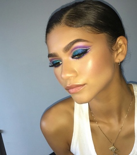 glam, blue and beat
