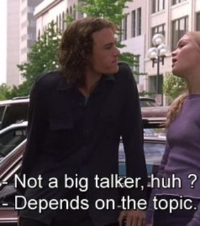 quote, 10 things i hate about you and kat stratford