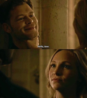 joseph morgan, caroline and klaroline