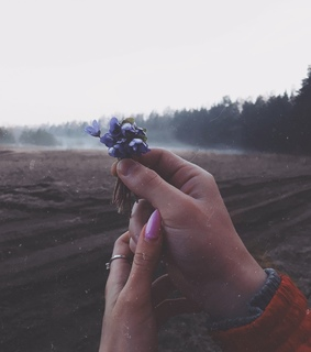 tumblr style stylish, holding hands makeup and picture photo forest