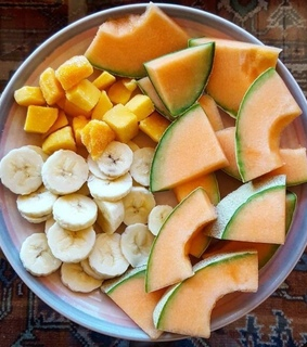 mango, banana and yummy