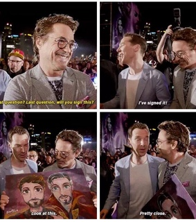 facial hair bros, Marvel and Avengers