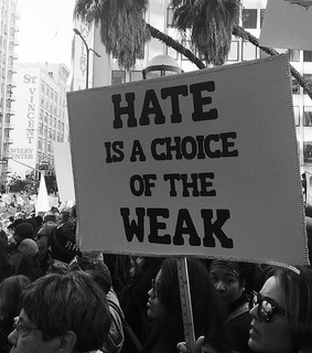 choose happy, black and white and change the world
