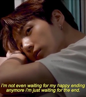 jungkook, sad quotes and love