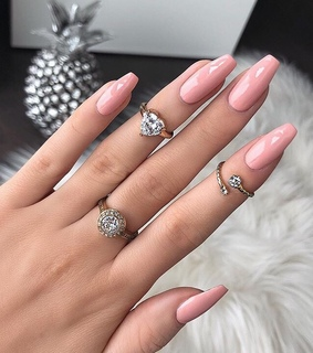 pink nails, nails goals and beauty