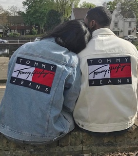 couple, goals and tommy hilfiger