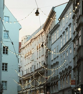 ligth, city and street
