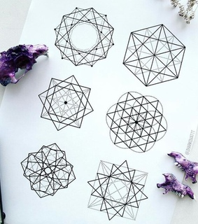 sketch, drawing and geometry