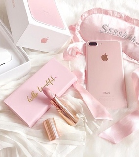apple, fancy and girly