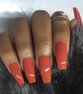 acrylics, gel and nail color