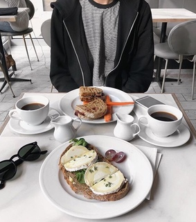 aesthetic, breakfast and coffe