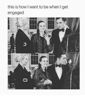 blair waldorf, couple and gossip girl