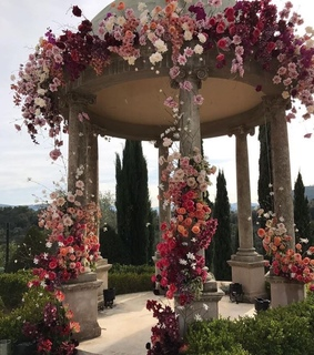 weddings, flowers and gazebo