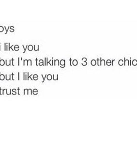 boys, confusing and like