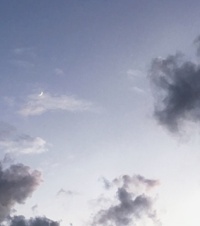 sky, soft and pastel