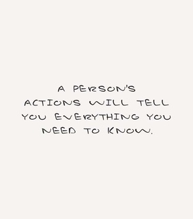 actions, everything and happy