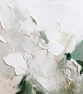 @bridie_combes, Abstract Painting and acrylic