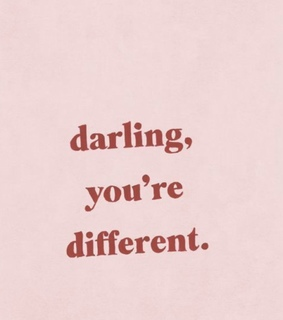 darling, different and hipster