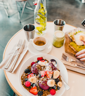 breakfast, delicious and fitspo
