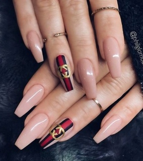 nails goals, perfect look and girly inspo