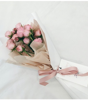 aesthetic, bouquet and flowers
