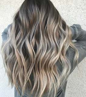 balayage, fashion and girl