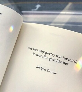 she was why poetry, she was poetry and quote