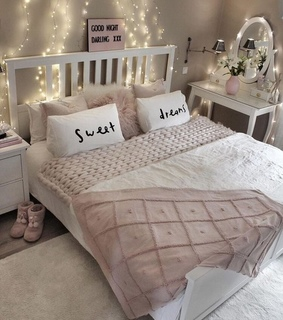 pink, room perfect and cozy