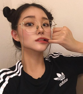asian, girl and glasses