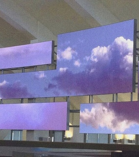 clouds and purple