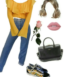 Polyvore, bag and cute