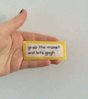 quotes, yellow and text