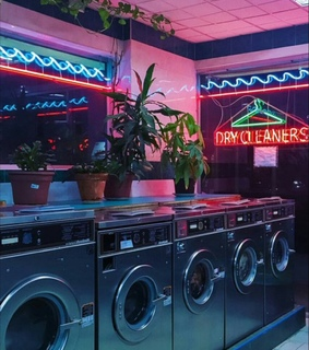 vintage, neon lights and neon