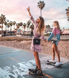 beach, california and chic