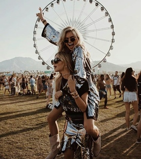 bff, coachella and fashion