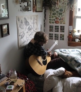 aesthetic, grunge and guitar