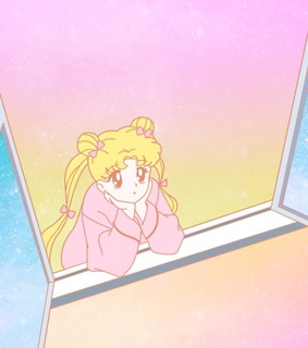 sailor moon, pastel and magical girl
