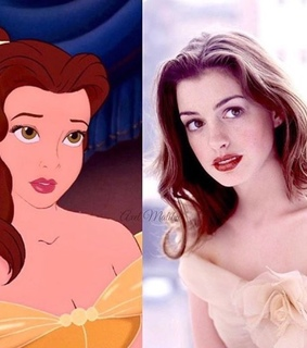 Anne Hathaway, inspiration and princess