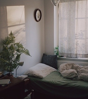 aesthetic, bedroom and calm