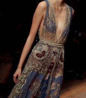 Couture, gown and high fashion