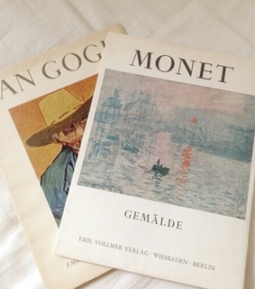 monet, picasso and aesthetic