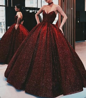 glam, gown and gorgeous