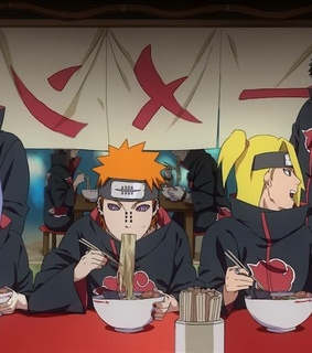 akatsuki, anime and deidara