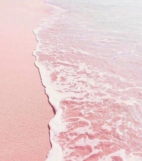 aesthetic, ocean and pink