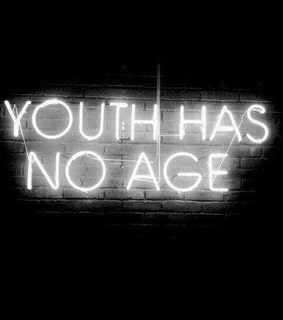 cool, neon and youth